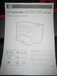 HP Lasejet M1120 - Błąd: Inicjalizacja
