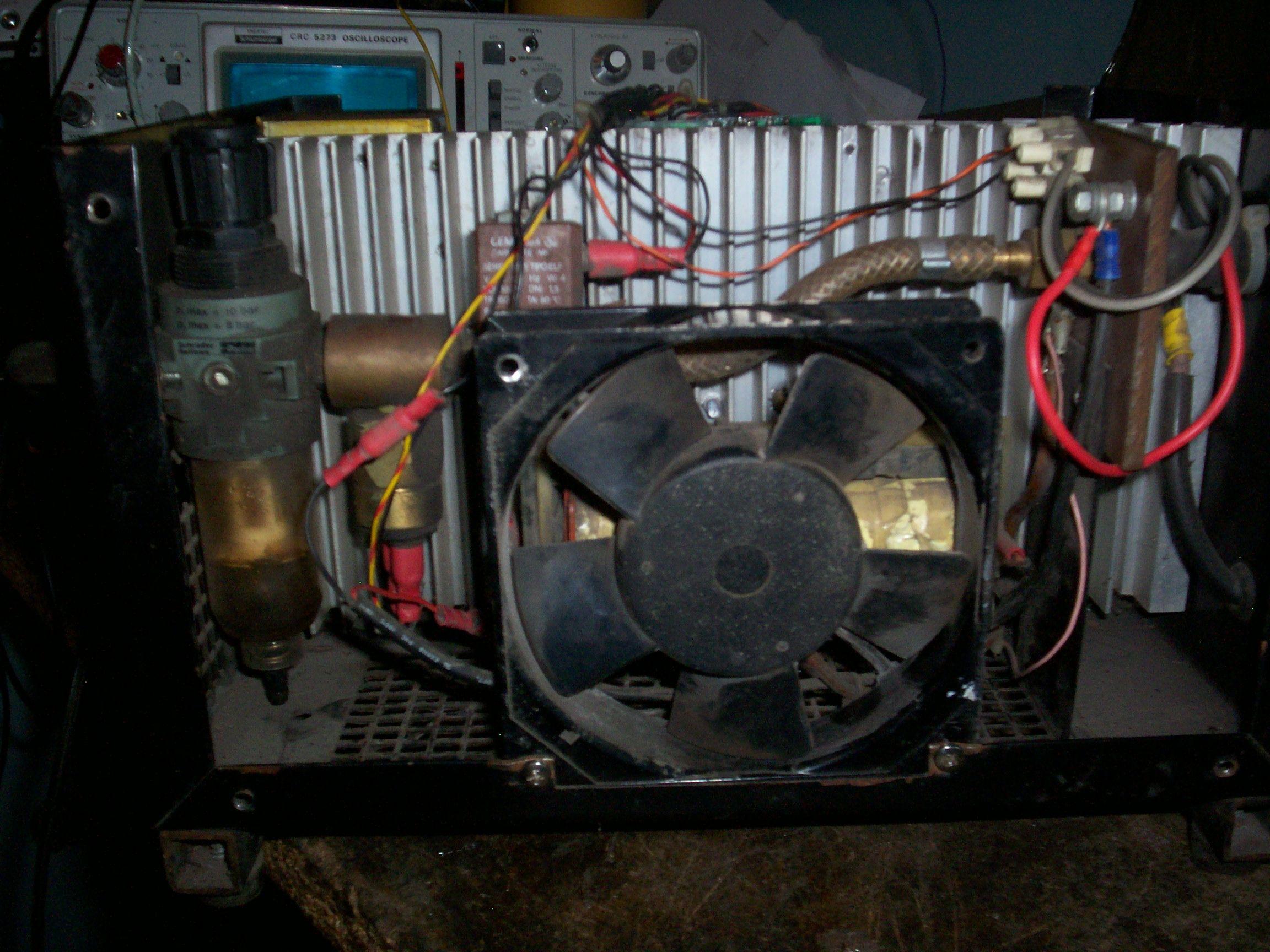 Przecinarka plazmowa WTC ECONOAIR 30 dorobienie nowego sterownika IGBT