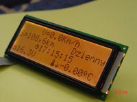 Komputerek do dwukołowca LCD+LED.