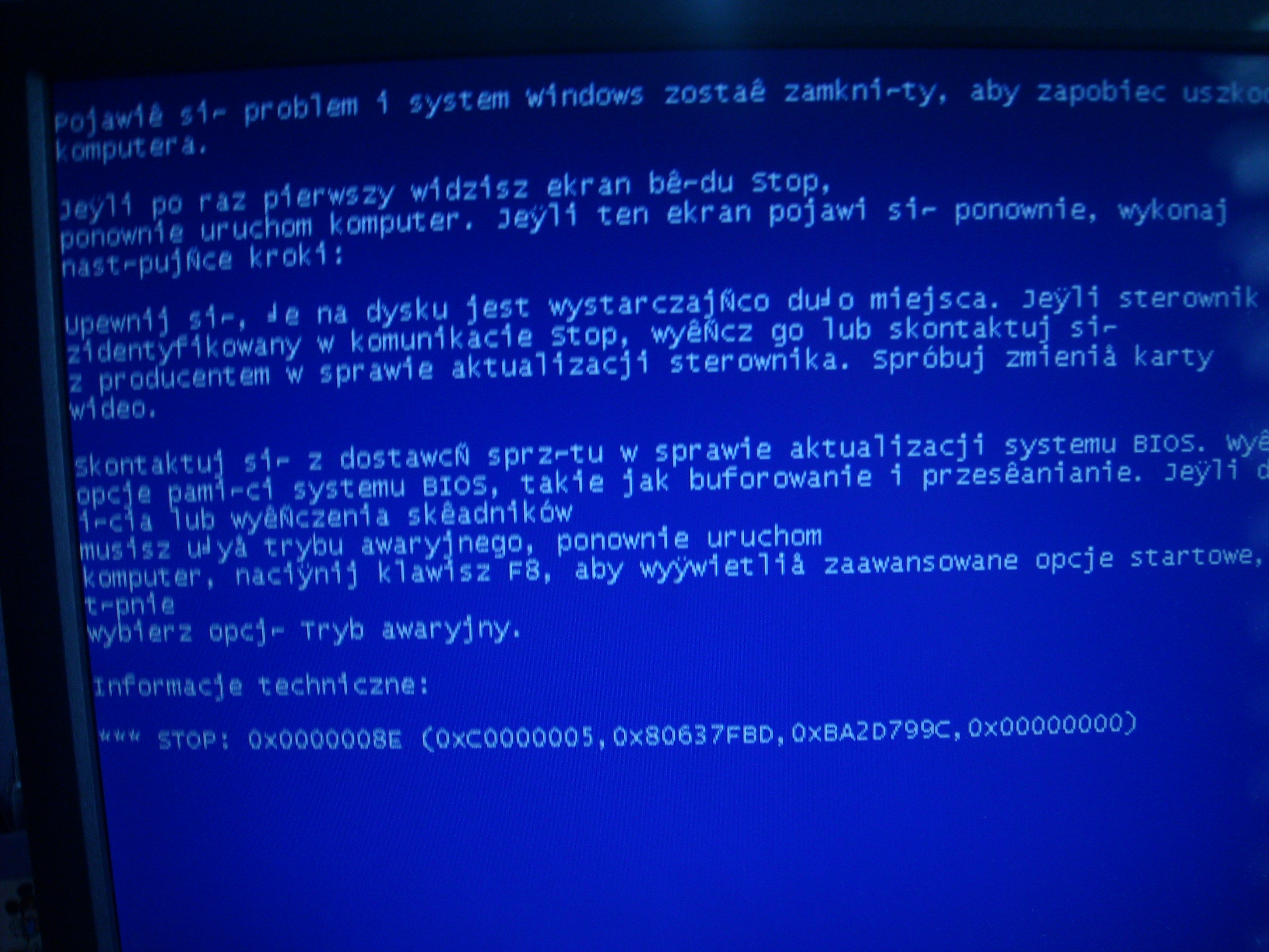 windows - Bluescreen problem.