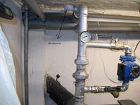 Piec Defro 12KW - Podłączenie instalacji centralnego ogrzewania