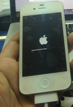 iphone 4 16gb - B��d 2 przy aktualizacji do ios 7.0.3