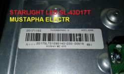DUMP STARLIGHT LED SL-43D17T