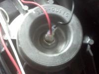 JBL EON 15 jak połączona jest cewka głośnika