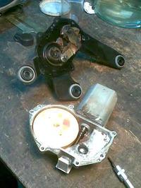 Peugeot 307 sw 1.6 16V tylna wycieraczka nie działa