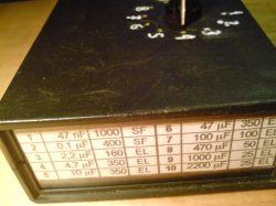 Zestaw kondensatorów próbnych