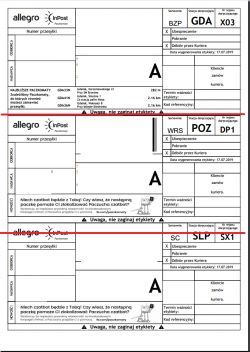 EPSON XP-342 - Ustawienie drukowania etykiet paczkomatu