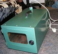 Mini grzałka / wentylator ciepłego powietrza (12V)
