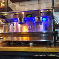 Ekspres do kawy gastronomiczny - Niebieskie podswietlenie LED