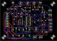 [Eagle] Pro�ba o sprawdzenie schematu i PCB