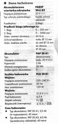 Wiertarko-wkrętarka z Lidla