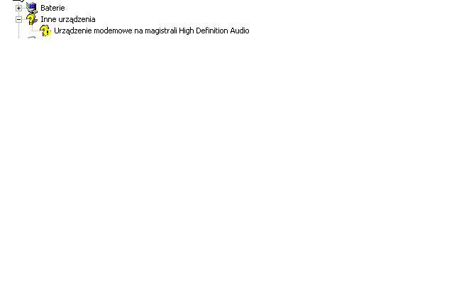 Problem z wyszukaniem sterownik�w do HP Pavilion dv6500