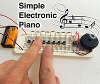 Proste elektroniczne pianino