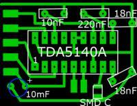Wentylator komputerowy jako sterowanie silnikiem bezszczotkowym.