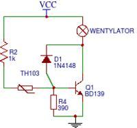 Regulacja obrotów wentylatora w zasilaczu