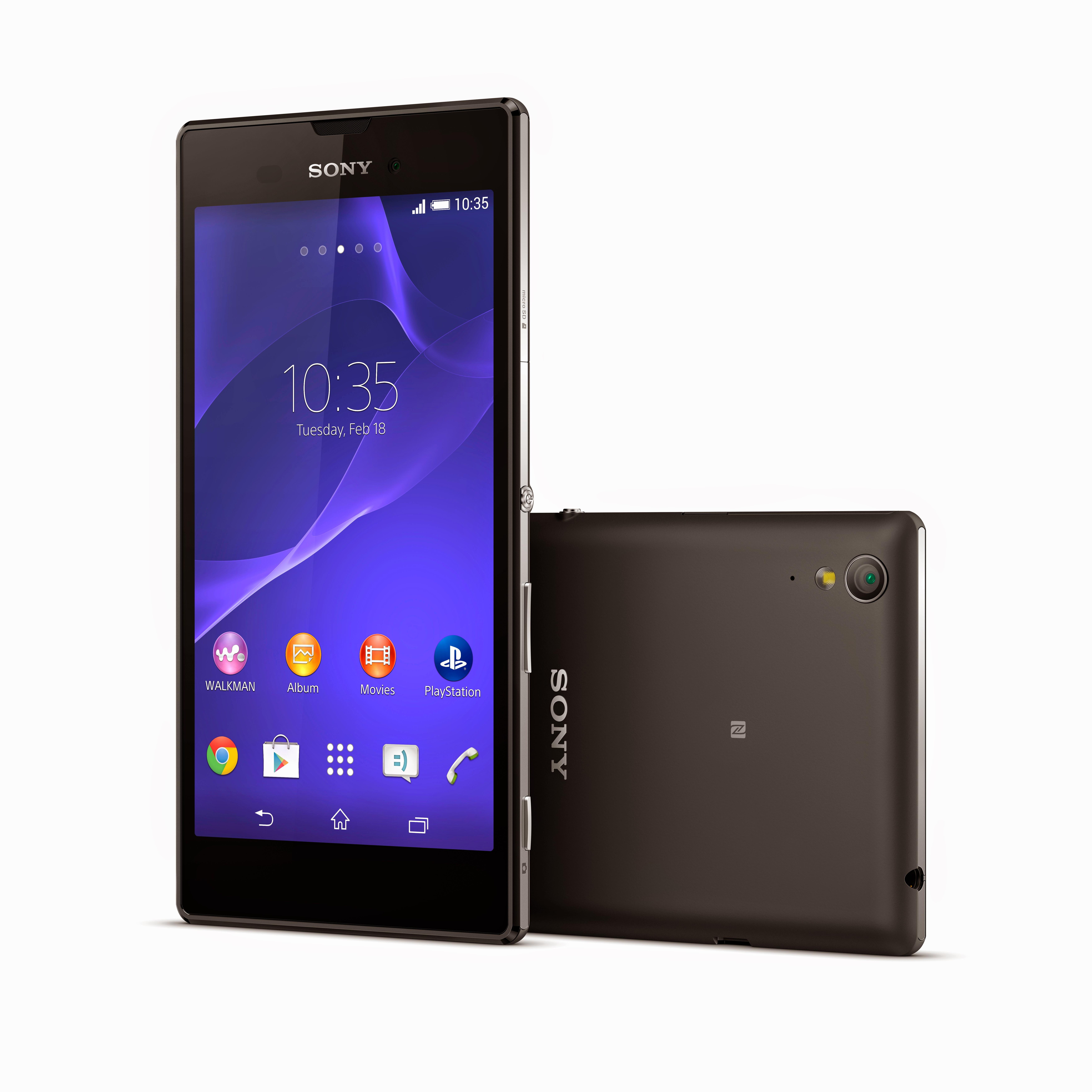 "Sony Xperia T3 - smartphone z 5,3"" ekranem, Snapdragon 400 i LTE"