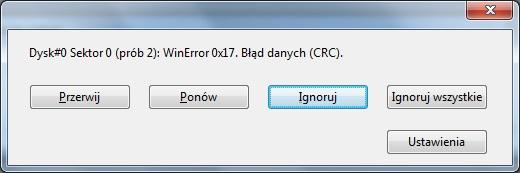 Pendrive Cruzer 16 GB - odzyskanie tablicy partycji
