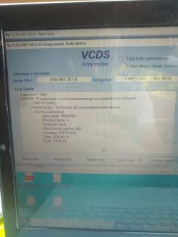 Passat cc 2014 2.0 dsg - Vcds błędy po skanowaniu