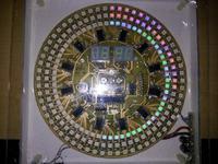 [Inne] Zegar LED z sekundnikiem i wyświetlaniem temperatury zew./wewn.-projekt
