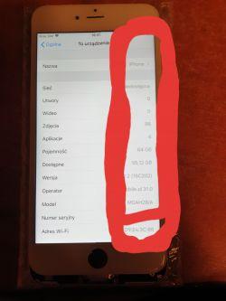 IPhone 6 Plus - Po wymianie TouchIC nie działa część dotyku