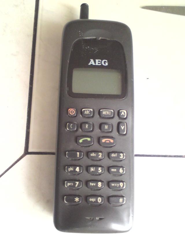 Telefon AEG brak zasi�gu?