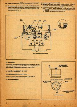 Radiomagnetofon ZRK RM-121A - oderwał się jeden z przewodów