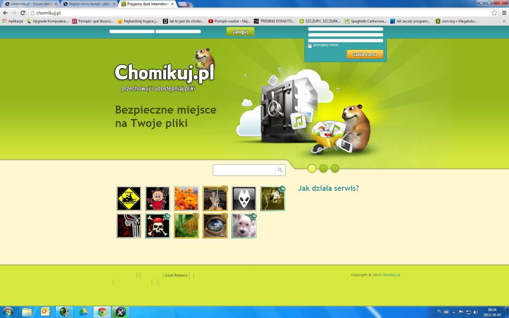 Google Chrome - Nieprawid�owe wy�wietlanie stron