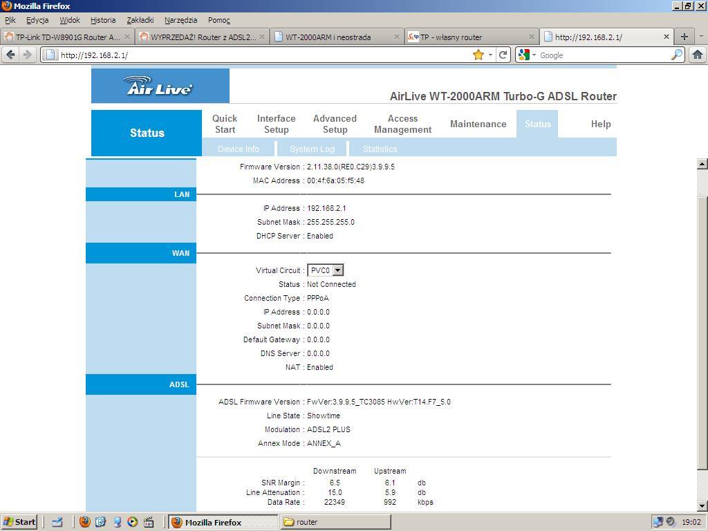 Air Live WT-2000ARM B Drivers Download