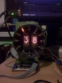 Tarczowy zegar nixie z synchronizacją NTP po WiFi