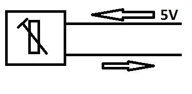 Najprostszy układ regulacji 0-5V.