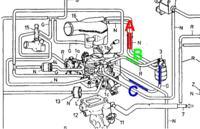 CC700 zawór powietrza dodatkowego do gaźnika Aisan, jak podłączyć wężyki