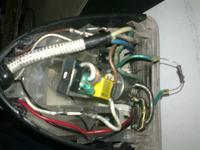 żelazko PHILIPS GC4641i - spalony rezystor?