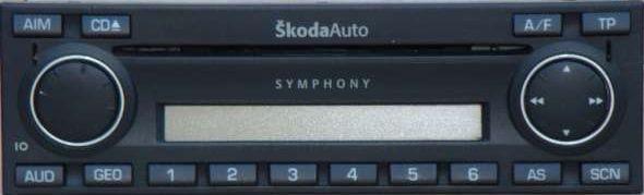 Symphony CD w Octavia 1 - Brak kodu, co zrobi� przed od��czeniem akumulatora?