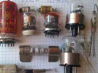 [Sprzedam] Tranzystory germanowe,potencjometry mocy,przełączniki, lampy nixie