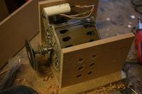 Szlifierka stołowa stolarska, do ściernic papierowych - jaki silnik?
