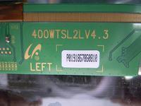 Samsung LE40A430T1 - Na ciemnym tle rozmyty czerwony kolor