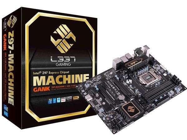 ECS prezentuje Z97-Machine - wysokiej klasy p�yt� g��wn� dla graczy