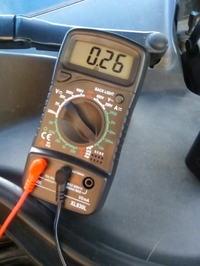 VW Passat B6 2,0TDI - Duży pobór prądu - bezpiecznik F12 komora silnika