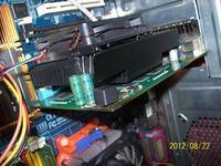 Geforce 9500 GT - Przegrzewająca się cewka