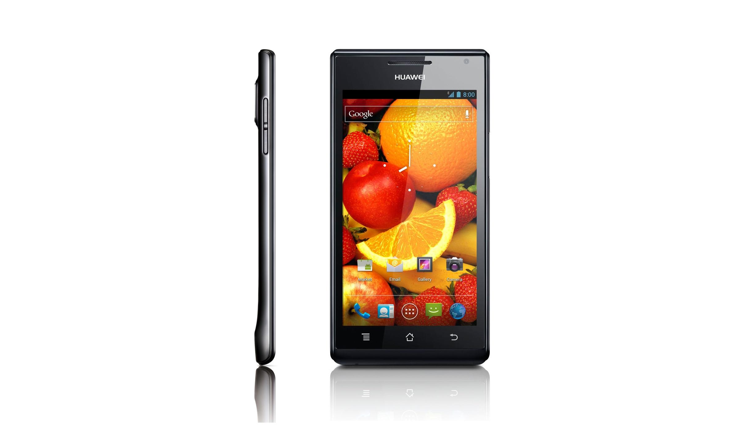 """Huawei Ascend P1 -smartphone z 4,3"""" SuperAMOLED i OMAP4 wkr�tce w sprzeda�y"""