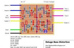 Interpretacja schematu efektu gitarowego