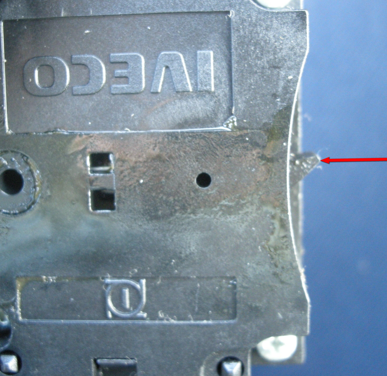 Iveco Daily 35C12 - prze��cznik zespolony nie odbija d�wignia kierunkowskaz�w