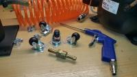 Kompresor - moja konstrukcja z agregatu z lodówki