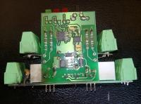 STEROWNIK ROLET F&F STR-3D - spalony przez przepięcie