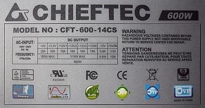 Chiftec model: CFT-600-14CS - Wartość rezystora R30?