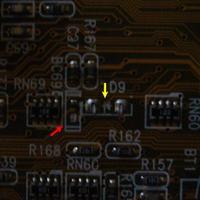 Małe +12V-rozwiazane, czerwona dioda na płycie - co jest?
