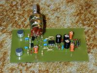 Układ wzmacniacza stereo do anteny parbolicznej