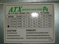 Zasilacz Noname 235W model: ATX-300 NP-ZDNDU10-02