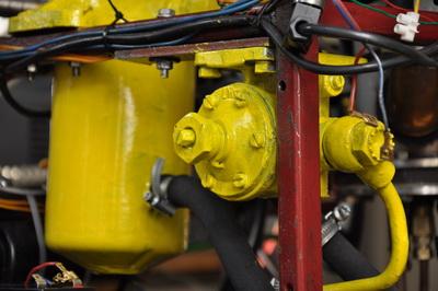 Silnik turbinowy na bazie turbosprężarki c.d.