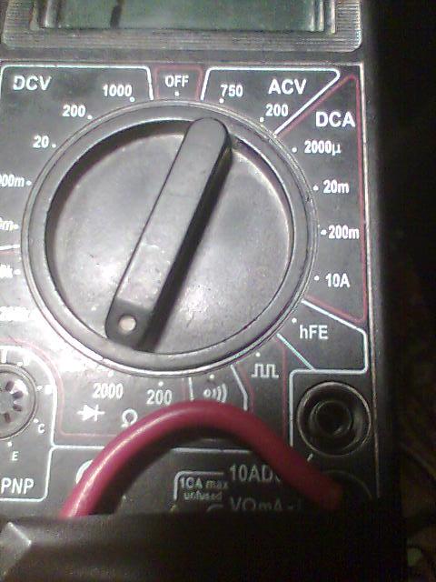 Radmor 5412 problem z diodami oraz głosem.